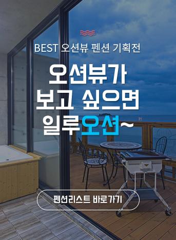 BEST 오션뷰 펜션 기획전